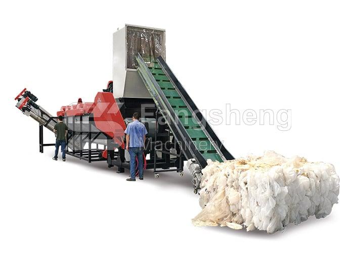 HDPE Milk Bottle Washing Line