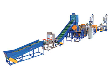 PE PP PVC Waste Barrels Recycling Line