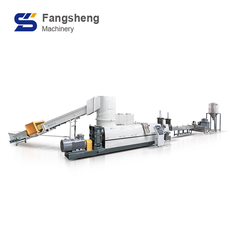 Compactor Pelletizing Line with Strand Cutting