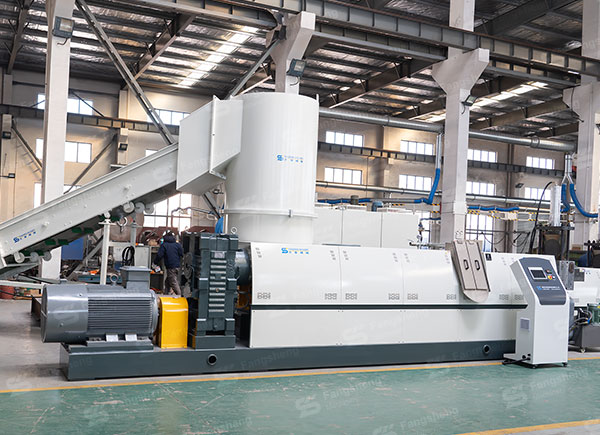 Compactor Pelletizing Line with Strand Cutting-fangsheng
