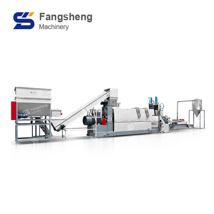 PET Hard Plastic Flakes Pelletizing Line
