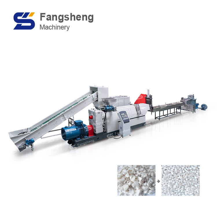 PET Pelletizing Line with Strand Cutting