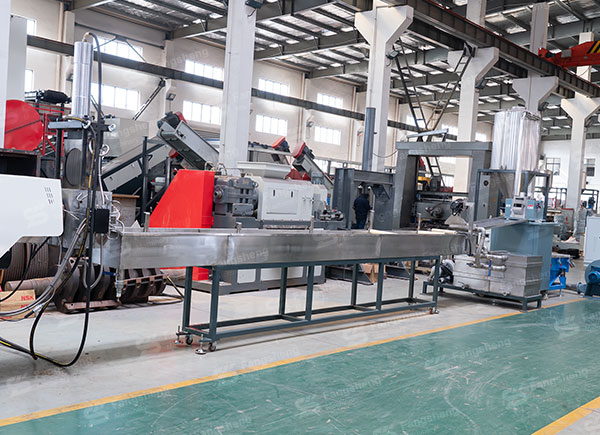 PET Pelletizing Line with Strand Cutting-fangsheng