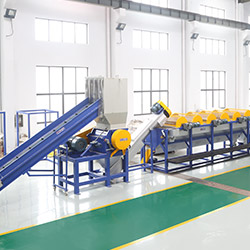 Plastic Waste Recycling Production