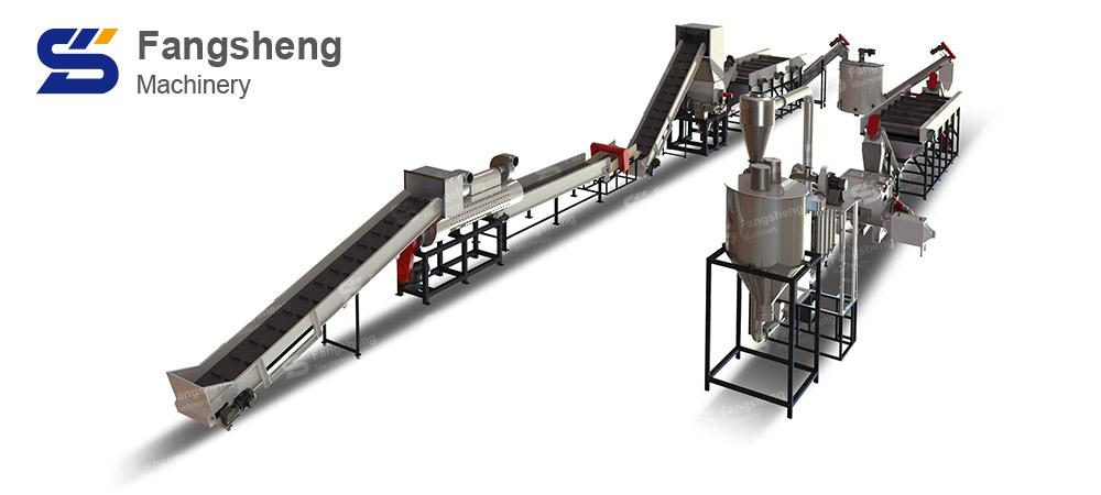 Chemical Barrel Recycling Washing Line-fangsheng
