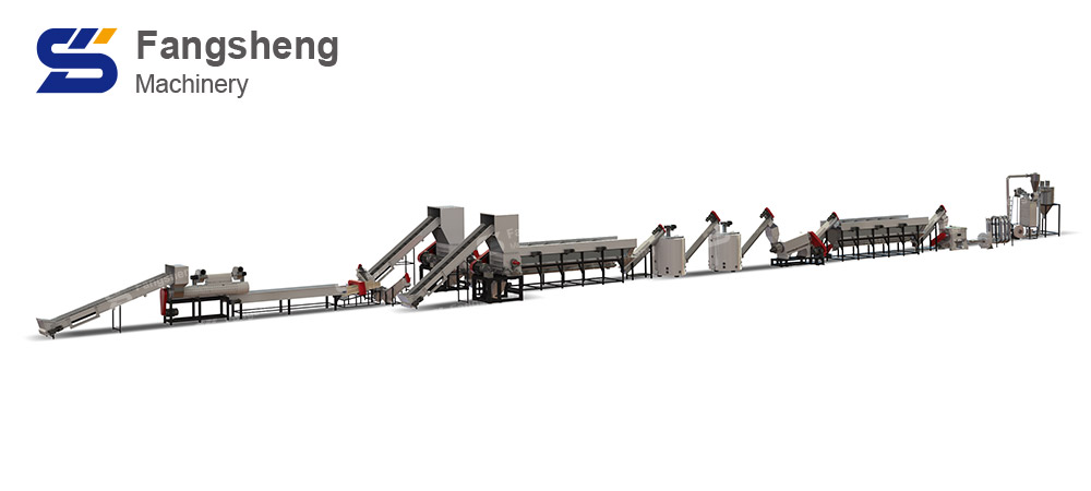 PET Bottle Recycling Washing Line-fangsheng