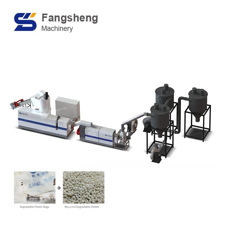 PLA / PBAT Degradable Plastic Granulation Line