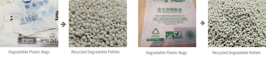 PLA / PBAT Degradable Plastic Granulation Line-fangsheng