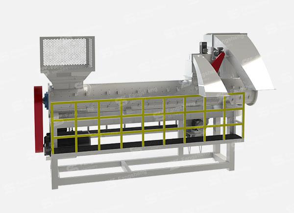PVC Barrels Recycling Washing Line-fangsheng