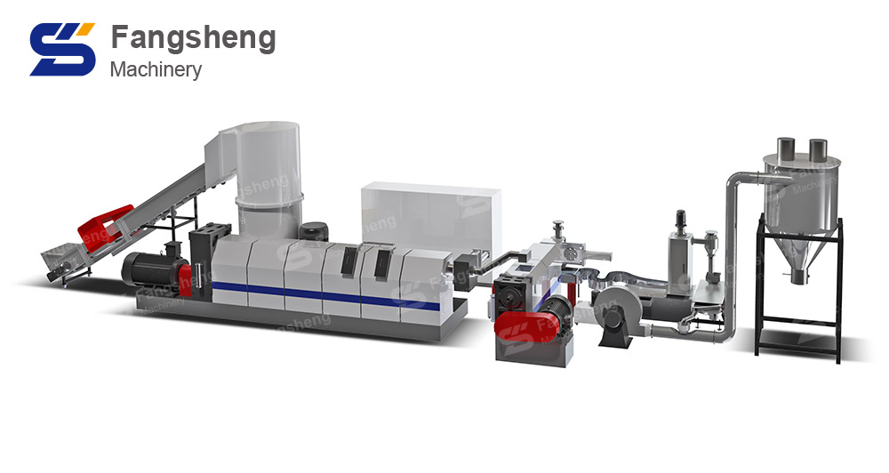 CPP Film Pelletizing Machine-fangsheng