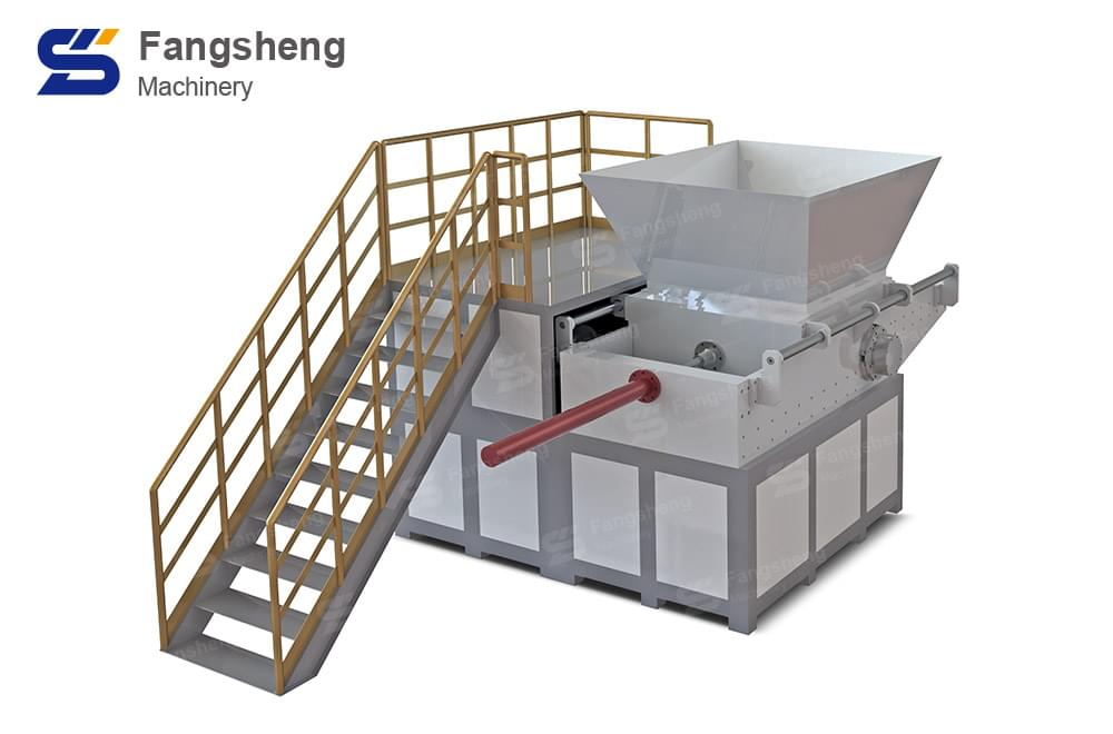 Double Shaft Shredder Machine-fangsheng