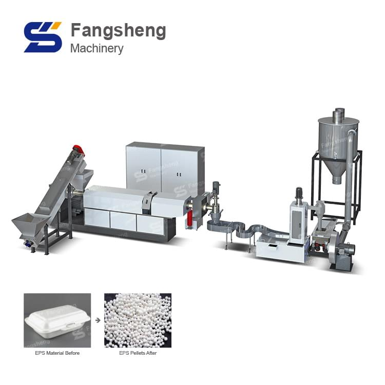 EPS PS Plastic Pelletizing Line