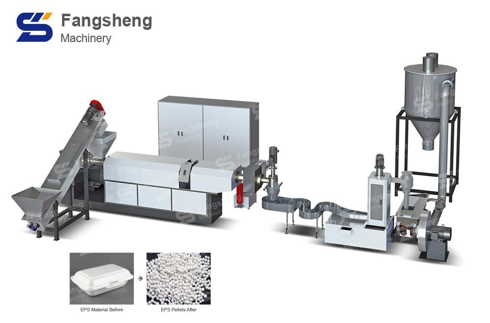 EPS PS Plastic Pelletizing Line-fangsheng