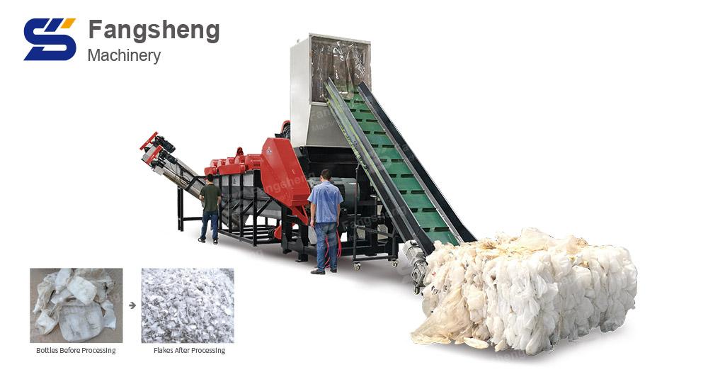 HDPE Milk Bottle Washing Line-fangsheng