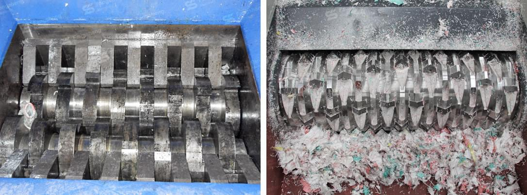 Single Shaft Shredder Machine-fangsheng