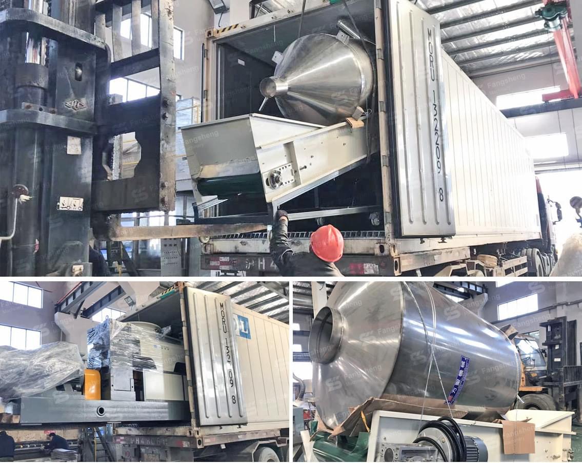 BOPP Film Granulation Line Shipped to Ecuador-fangsheng