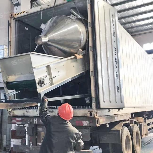 BOPP Film Granulation Line Shipped to Ecuador