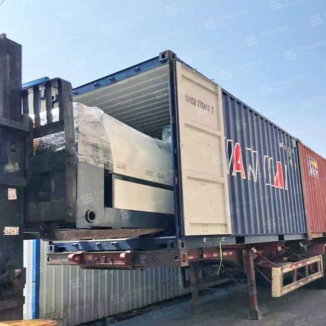 PP PE Film Compactor Granulation Line 500kg Shipped to South America
