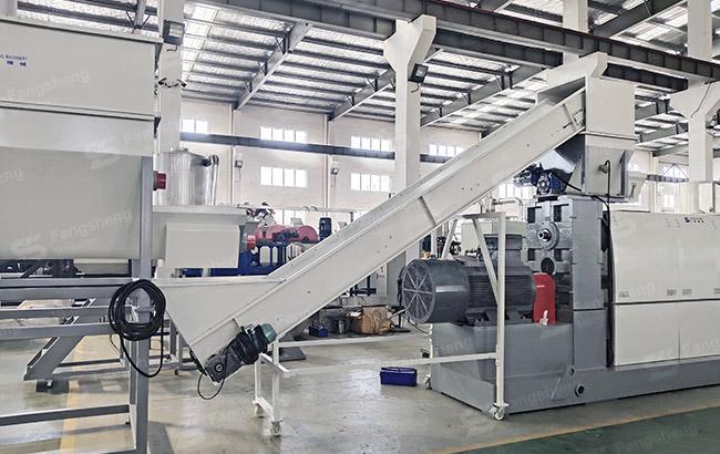 Poland – Double Stage Plastic Granulation Machine