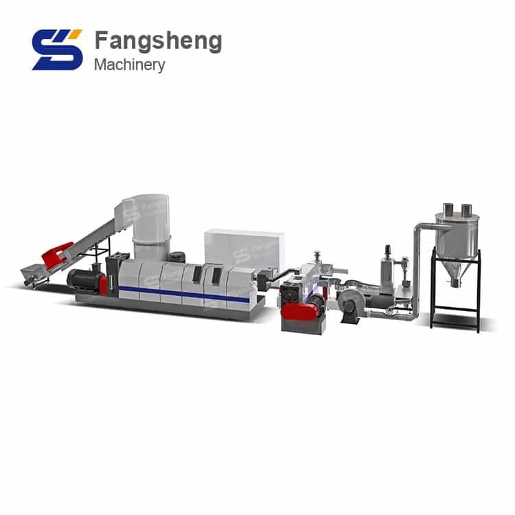 PPWovenBag Granulation System