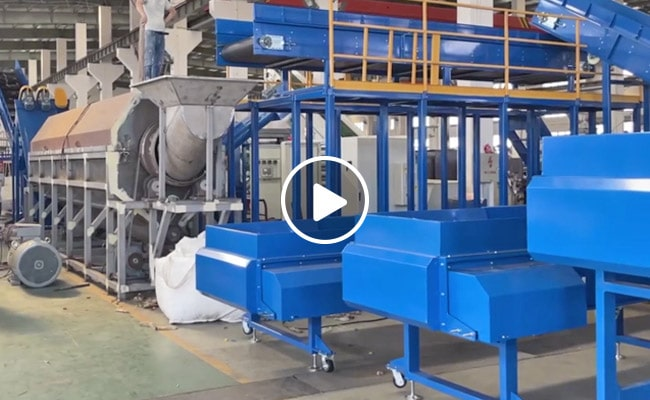 PET Bottle Recycling Washing Production Line Video
