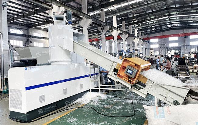 China POF Film Compactor Pelletizing Machine